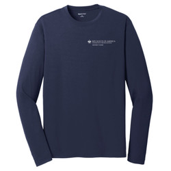 ST340LS - C146-S5.0-2019 - EMB - Council District Long Sleeve Wicking T-Shirt